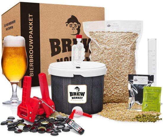 Brew Monkey Bierbrouwpakket compleet