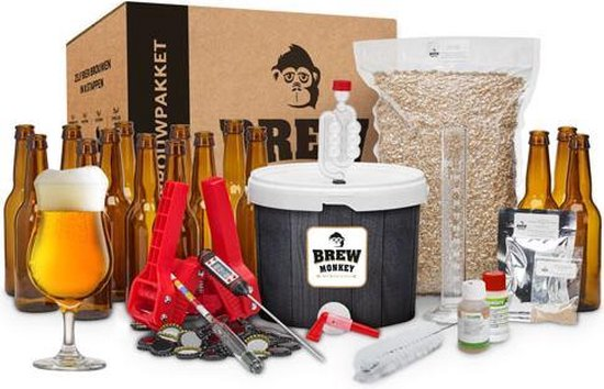 Brew Monkey Bierbrouwpakket | Premium starterspakket