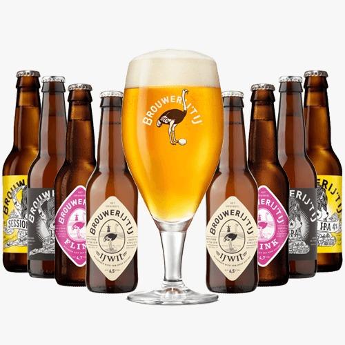 Brouwerij 't ij bierpakket | Verschillende bieren bierpakket