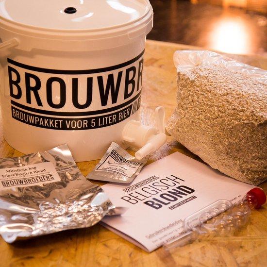 Bierbouw Starterspakket van Brouwbroeders | Starterspakket blond