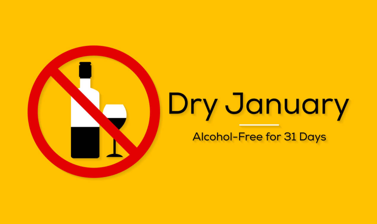 Tips om Dry January 2021 vol te houden