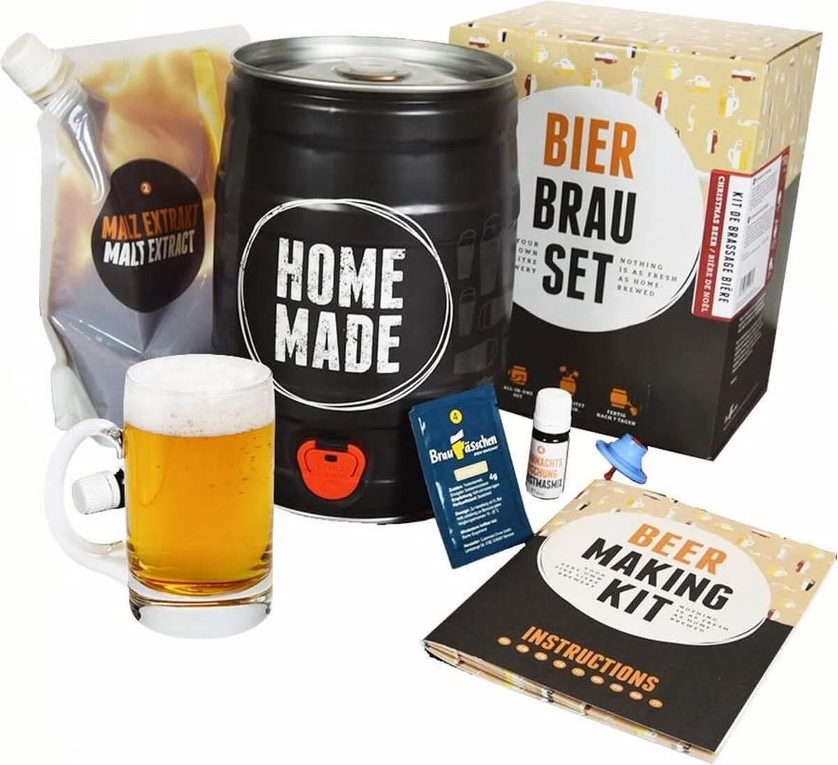 Brew Barrel Bierbrouwpakket Review | Bierbrouwpakket voor thuis