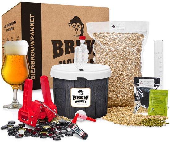 Brew Monkey Bierbrouwpakket Review | Zelf thuis bier brouwen