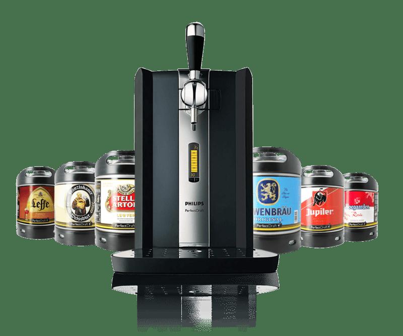 Philips Perfect Draft biertap - Philips Perfect Draft biertap met biervaten