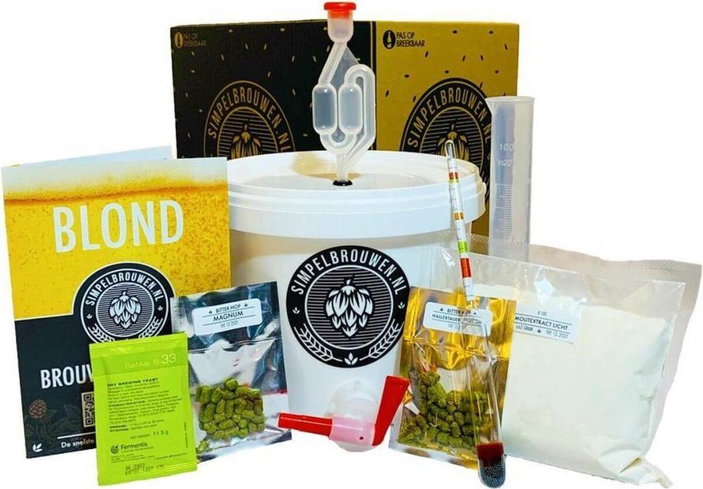 Simpelbrouwen bierbrouwpakket review simpel