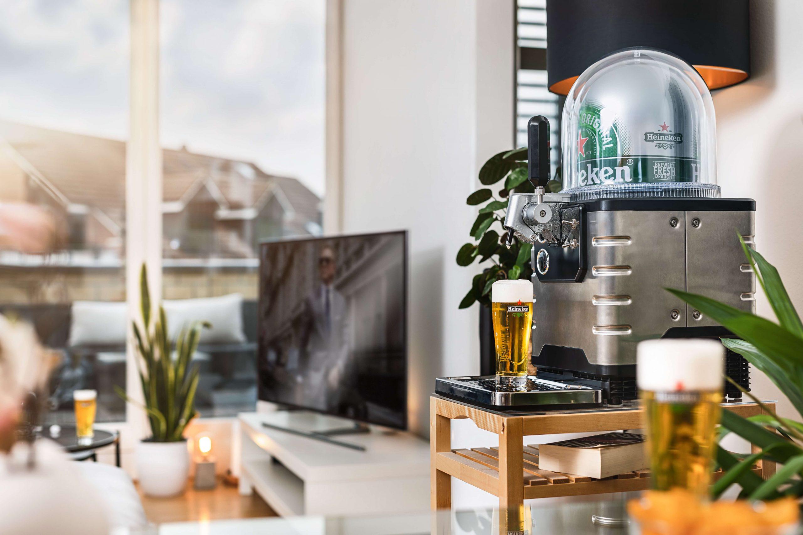Heineken Blade Biertap - Thuistap met 8 liter fusten