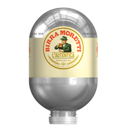 Heineken Blade Fusten - Birra Moretti fust