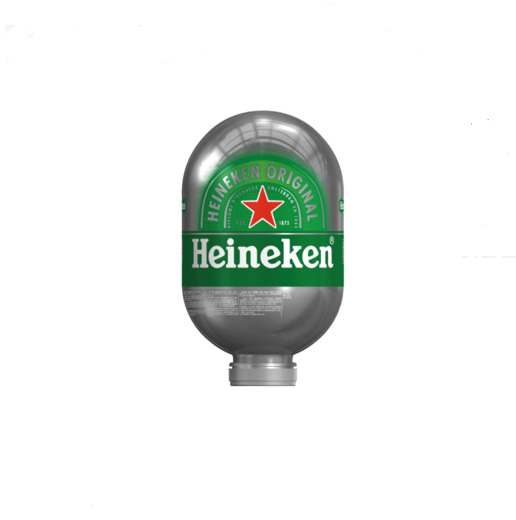 Heineken Blade Fusten | 8 liter vaten