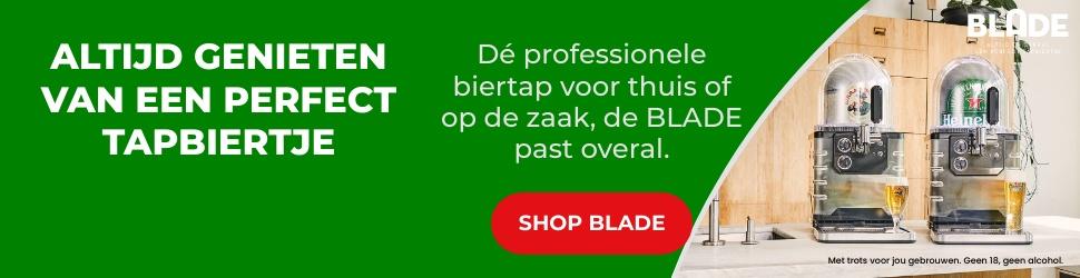 Heineken Blade biertap promotie