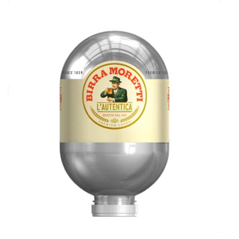 Heineken Blade vaten - Birra Moretti Authentica